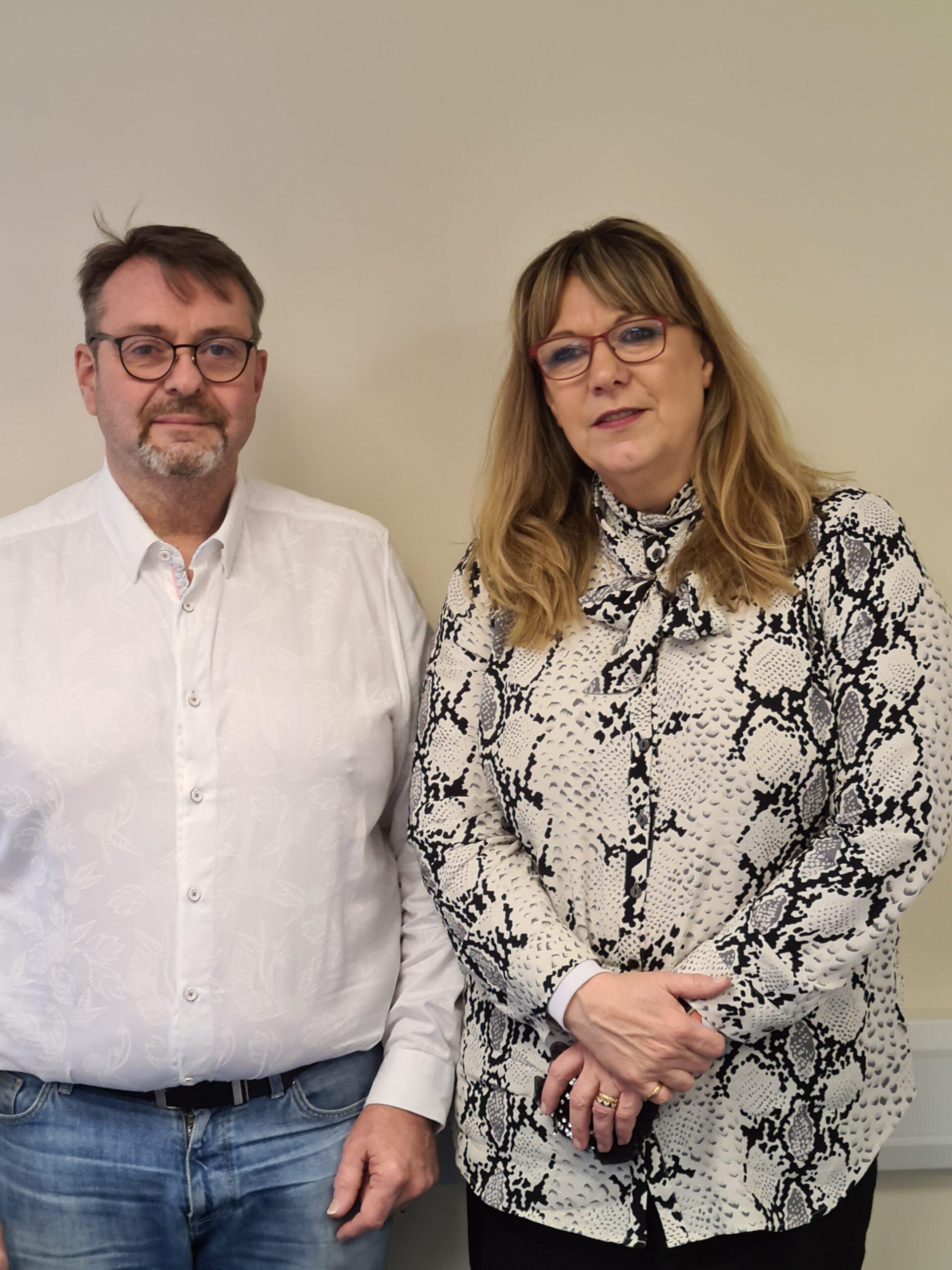 Owners of Professional Hygiene Sarah & Paul